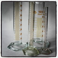 Laboratory Equipment - Graduated Cylinder (eltpics) Tags: equipment cylinder graduated labratory eltpics