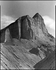 Manly Beacon from Golden Canyon (Summicron20/20) Tags: camera field inch kodak tmax c traditional 8x10 100 fujinon kb deathvalleynationalpark 600mm 100tmx f125 canham