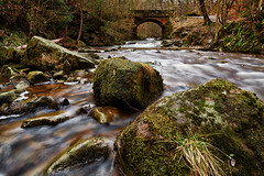Little Beck at Falling Foss - Explored 17/03/13 (mark_mullen) Tags: uk longexposure water river flow nationalpark rocks stream beck whitby scarborough northyorkmoors northyorkshire northyorkshiremoors fallingfoss ruswarp littlebeck canon24mmtse canon5dmk3 markmullenphotography