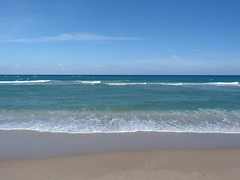 Delray Beach (bunnygoth) Tags: ocean beach waves florida delray 2013