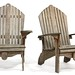 27. Pair of Teak Adirondack Chairs