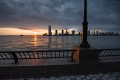 Sunset from the Esplanade (MrBlackSun - Busy for sometime) Tags: nyc newyorkcity sunset ny newyork marina newjersey manhattan worldtradecenter nj batterypark wtc financialcenter esplanada batteryparkcity northcove northcovemarina 1wtc batteryparksunset batteryparkcityauthority mygearandme mygearandmepremium mygearandmebronze mygearandmesilver photographyforrecreation nyc2013