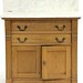 122. Eastlake Period Marble Top Wash Stand
