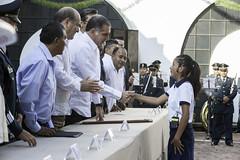 Gabino Cu, Entrega de Polideportivo, en el Natalicio del Benemrito, Guelatao de Jurez (Gabino Cu Monteagudo) Tags: aniversario benito jurez natalicio