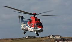 CHC G-WNSC IMG_9860 (Ronnierob) Tags: shetland chc superpuma sumburgh scatness as332l2 gwnsc