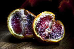 IMG_4767 (Trystram) Tags: light food painting photography blood citrus oranges
