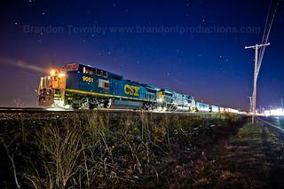 CSX Q106 in Marion, Ohio