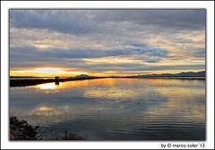 Nubes en la salina ( Marco Antonio Soler ) Tags: santa sunset en espaa seascape clouds reflections landscape atardecer la spain nikon paisaje iso enero alicante nubes jpg 13 ocaso hdr pola salina reflejos 2013 d80 blinkagain