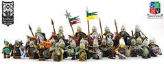 Lenfald - Huscarls and Highlanders (Ayrlego) Tags: lenfald roawia lor lego army