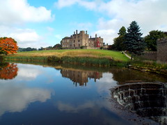 DSCN23476 (dkmcr) Tags: ripleycastle ripon yorkshire castle landscape scenery daytrip tourism outdoor heritage weddingvenue 27th september 2015 ripley lake reflection