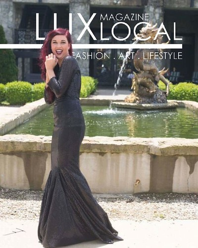 #luxlocalmagazine  #castlepost #magazinecover #magazineshoot #classysexycutie #truebeauty #sheisincredible #louisville #kentucky #blackdress