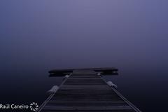 ''Niebla'' (raulcaneiro) Tags: españa spain galicia galiza niebla auga water acoruña pantalan