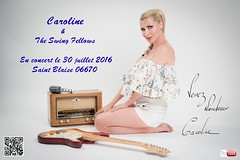 Pin Up Caroline - affiche Saint Blaise (freddy.roma) Tags: theswingfellows theswing thesswingfellows carolinetheswingfellows caroline cannes pinupcaroline cafi barefoot babe liveband blonde beauty freddyroma feet france facebook foot french frenchriviera famous fender fineart swing fellows sexy soles sole stockings gretsch guitar glamour legs leg talon toe toes httpswwwyoutubecomchanneluc6qps8vs3hsuwfauqhyr1a