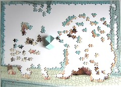 Ssses Geheimnis / Our Secret (Leonisha) Tags: puzzle jigsawpuzzle unfinished