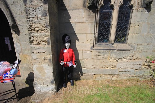 Changing The Guard at the Heather Scarecrow Festival 2016