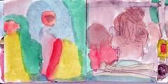 die den Schicksalsfaden spannen waren blind, hie es. Aber konnten all die komplizierten Zusammenhnge Zufall sein (raumoberbayern) Tags: sketchbook skizzenbuch tram munich mnchen bus strasenbahn herbst winter fall pencil bleistift paper papier robbbilder stadt city landschaft landscape