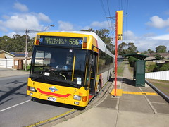 MAN NL232 776 on Valley Rd (RS 1990) Tags: adelaide southaustralia friday 19th august 2016 man nl232 776 bus valleyrd hopevalley stop38