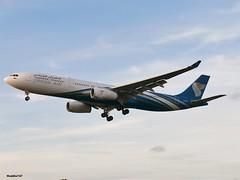 A40-DB - Airbus A330-343E - OMAN AIR (Hoddle747) Tags: a40db wy omanair airbus a330 lhr