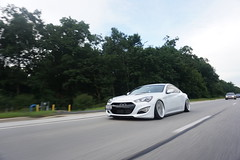 Rolling (Dustin Doege) Tags: hyundai genesiscoupe low car stance roller rolling outdoors