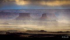 Golden Mist Over Canyonlands (Travis Klingler (SivArt)) Tags: utah greenriveroverlook landscape canyonlands moab workshop