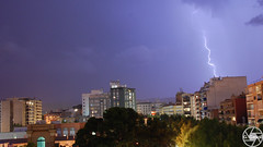 Llamps (Gerard Gesali) Tags: llamps lightning light sky night reus tempesta storm photography young amazing colourful