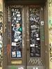 Crushed Door (MaxTheMightyy) Tags: graffiti graff tag tags tagging tagger throw throws throwie throwies fill fills fillin filledin spray spraypaint spraypainted painted street art streetart graffitiart bomb bombs bombing graffitibombing ny nyc newyork newyorkcity brooklyn brooklyngraffiti vandal vandals vandalism vandalized