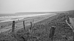 dans la brume B&W DxOFP LM+35 1003048 (mich53 - Thanks for 3000000 Views!) Tags: paysage normandie cotentin cte mer plage nature ciel nuages tlmtre leicam france vacances 2016 landscape normandy coast sea beach sky cloudy rangefinder holidays landschaft kste meer strand natur himmel bewlkt entfernungsmesser frankreich urlaub monochrome noirblanc bw summiluxm35mmf14asph misty brumeux nebelig