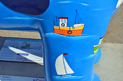 Skipper-G-17-September-2016 (Steve Ellwood Whitley Bay) Tags: greatnorthsnowdogs guidedog mikeclay northshields cliffordsfort ellwood steveellwood skipper joannewishart dfds westernquay fishquay