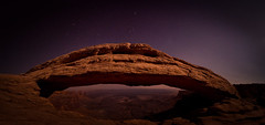 Mesa Arch by Moonlight (davekoch_photo) Tags: landscape mesaarch moab utah