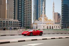 Dubai (Victoriano) Tags: dubai eau uae ferrari mosque arab skyscrapper