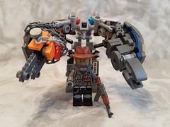 Freestanding (PaperAirship) Tags: lego apocalego