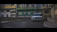 ghetto-bmw (HugoSilvaDesigns) Tags: bmw low stanced bagged airride lowered ghetto street anamorphic canon 60d 50mm f18 urban buildings