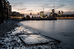 London sunset from Berrmondsey 2016 (Christine's Observations) Tags: london sunset sunrise thames reflections towerbridge londonbridge fenchurch leadenhall cheesegrater stmaryaxe butlerswarf night longexposure beautiful colourul christinephillips stunning hopeyoulikeit visit landscape getty explore