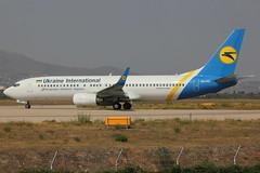 UR-PST | Boeing 737-8AS/W | Ukraine International Airlines (cv880m) Tags: athens ath lgav greece venizelos eleftherios urpst boeing 737 738 737800 7378as winglet ukraine ukraineinternational