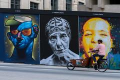 Near BOZAR museum in Brussels (iegienie) Tags: brussel street brussels bozar museum bicycle bike