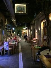 Avli restaurant and Raki Ba Raki in Rethymno (Tjeerd) Tags: finedining mediterraneancuisine outdoor greece crete avli restaurantavli dinner mezes mezzes rakibaraki rethymno greekholiday oldtown holidayingreece summeringreece rethymnobynight janine rthimnon greekhospitality mezodopoleio greekgastronomy