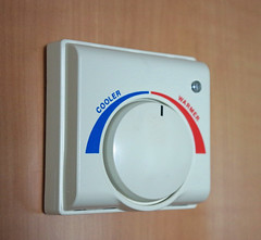 Cruiseship Thermostat (TheMachineStops) Tags: 2013 theremostat switch control temperature heating cooling cruiseship cabin dial indoor