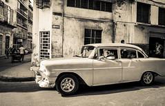 Streets of Havana - Cuba (IV2K) Tags: havana habana lahabana cuba cuban cubano street blackandwhite bw sony rx1 sonyrx1 neptuno caribbean zeiss carlzeiss 35mm