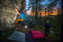Turvasanat, 7a at Rovaniemi, Finland (Kuutti Heikkil) Tags: climbing bouldering lappi lapland rovaniemi finland suomi