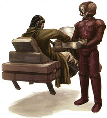 RECG LOM-series Protocol Droid (Silkhead Goth) Tags: starwarsroleplayinggame starwars rpg art character wotc wizardsofthecoast saga rebellioneracampaignguide human droid rebellion rebel characters