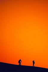 sand, skating, shooting and sunset (rasa@1975) Tags: art artristic artland serbia srbija sky sunset silhouettes shadows sun figures flickr explore 365dayproject emiraths nikkor nikon naturesoul texture twop travel themagichour lightroom lightshadow lessismore outdoor sand safari summer holiday
