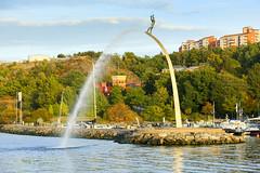 Nacka Strand (Anders Sellin) Tags: batic skrgrd sverige sweden vatten sea stockholm stersjn carl milles staty stjrnor mot himlen kasta skrgrd stersjn