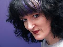 7 | Purple (Auntie P) Tags: selfportrait purple ofme week1 auntiep 52weeks 365days january2013 52weeks2013 2013week1 365days2013 52weeks20131