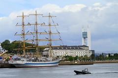 IMG_1660 (Paco Gonzlez1) Tags: puerto muelle corua barco cuttysark 2012 velero tallshipsrace trasatlantico