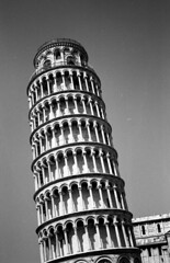 Pisa (boscoppa) Tags: trip italy tower film 35mm kodak tmax olympus pisa 35 leaning