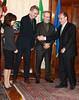 Daniel Day-Lewis, Renato Schifani, Sally Field, Steven Spielberg