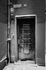 (SpeNoot) Tags: street door winter bw snow gate hungary nocrop székesfehérvár hó tél feketefehér ajtó rács