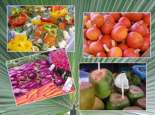 legumes de la Réunion