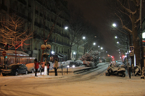 Avenue Trudaine - Paris (France)