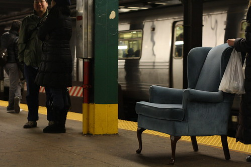 how to get a seat on the subway